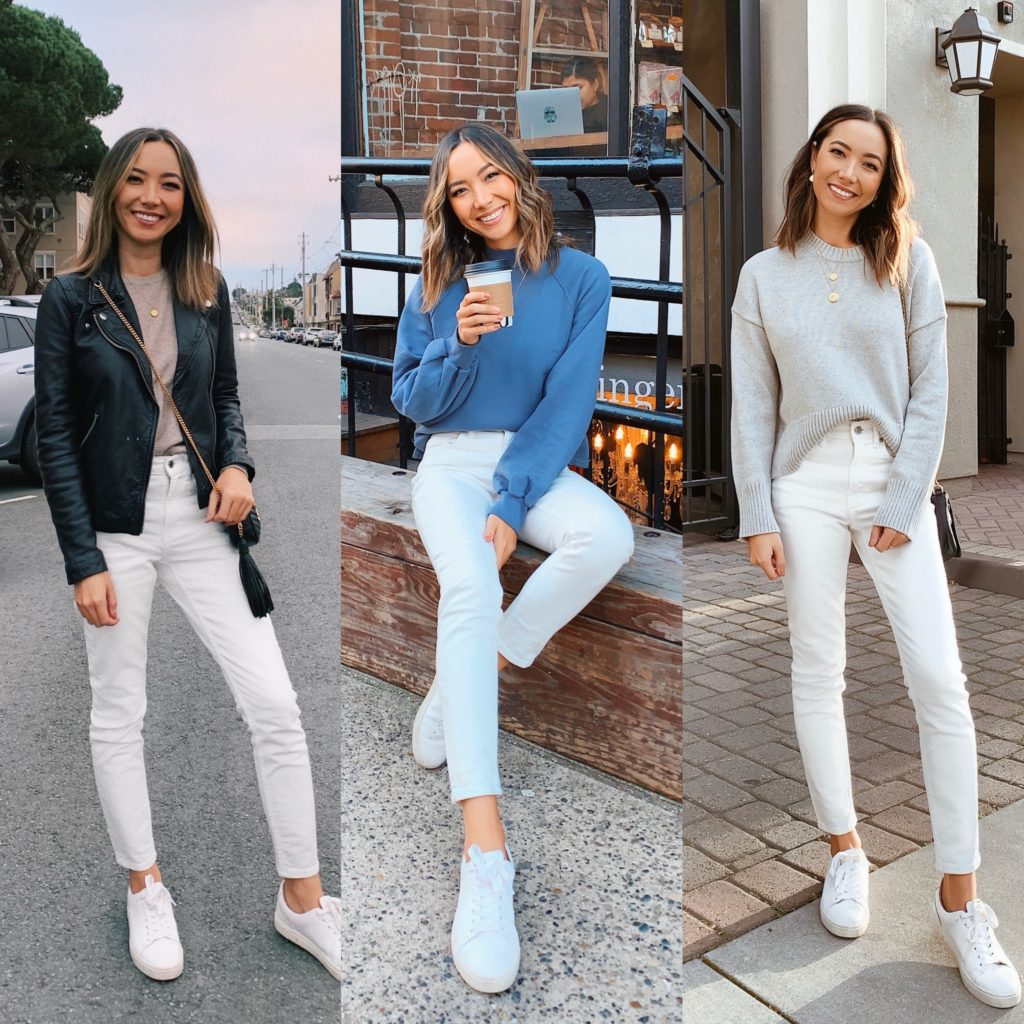 12 Ways to Style Your White Jeans